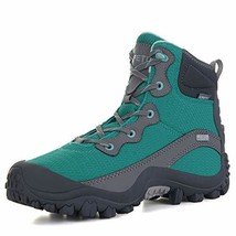 Geat Depot Women's Dimo Mid-Rise Waterproof Hiking Boot Green, 6 M US - $67.38