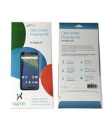 XUMA - Clear Screen Protector Kit for Nexus 6P - 2 Pack - $3.95