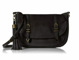 Nine West Evelina Crossbody Shoulder Saddle Bag, Black - $45.00