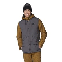 420$ Black Forest BioZone Down Jacket Grey Yellow Size XL New with tags - $266.31