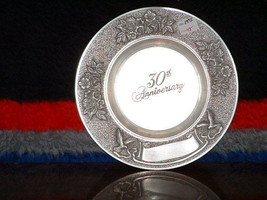 New B C Pewter 30th Anniversary Plate - $18.81