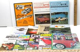 1970's Chevrolet Corvette Magazine Lot+Parts & Accessories Catalogs+Broc... - $35.52