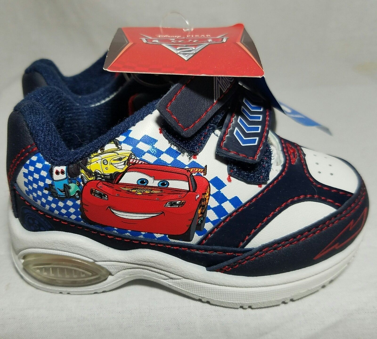 Cars Lightening McQueen Sneaker Disney  Size 5