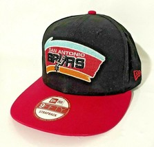 New Era 9Fifty San Antonio Spurs Hardwood Classic NBA Adjustable Strapback Hat  - $18.99