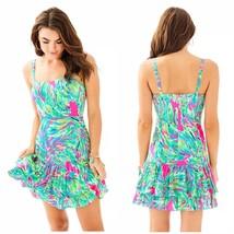 Size 8 NWT Lilly Pulitzer Morgana Dress Raz Berry Shady Lady  $178 - $98.99