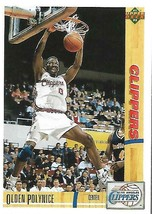 1991-92 Upper Deck-#140--Olden Polynice-Clippers-Center - $3.96