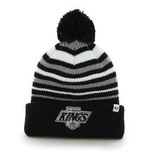Los Angeles Kings Beanie NHL Incline Cuff Pom Knit Hat Men's One Size Wi... - $17.45