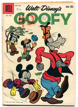 Walt Disney's Goofy 1053 VG 4.0 Dell Four Color 1960 Tony Strobl Paul Murry - $23.75