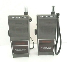 Vintage Realistic TRC-80 Citizens Band Transceiver Parts Repair 2 Each - $23.36
