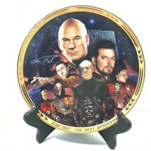 Hamilton Collection 1994 Star Trek The Next Generation The Episodes Plaque - $69.06