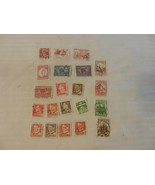 Lot of 21 Denmark Stamps, 1941, 1979-81 Buildings, Bering's Ship, King - $14.85
