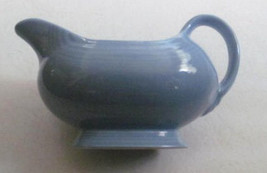 New Fiesta-Open Sauce Boat in Fiesta-Periwinkle Blue (Newer) by Homer La... - $35.99