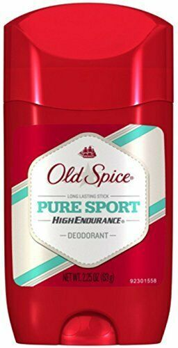 Primary image for Old Spice Pure Sport High Endurance Deodorant 2.25 oz *LOT OF 3*