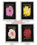 Marshall Inseln 2005 Hagebutte Blumen ( Fv $7.40 USA ) MNH - $9.58 CAD