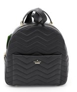 NWT Kate Spade New York Reese Park Ethel Black Quilted Leather Backpack ... - $198.00