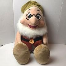 "Disney Store Doc Snow White And The Seven Dwarfs 28"" Large Plush Doll - $49.49"