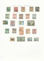 TRADE PRICE STAMPS  RHODESIA USED ON PAGE - $3.75