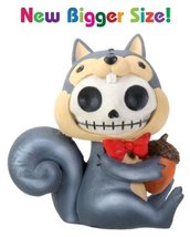 SUMMIT COLLECTION Furrybones Nibbles Signature Skeleton in Squirrel Costume Hold - $14.29