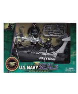 NEW U.S. Navy Seals Boat Action Figures & Playset United States Navy NEW... - $12.66