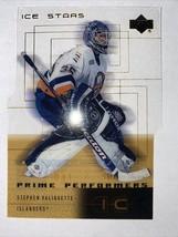 2000-01 Upper Deck Ice Islanders Gold Insert #60 Steve Valiquette Rookie 031/500 - $2.84