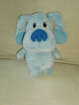"Ty Blues Clues Plush Bean Bag 2011 Viacom Nickelodeon Pluffies 8"" - $17.43"