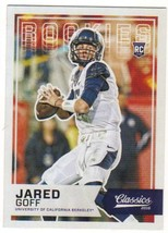 2016 Panini Classics Short Prints #262 Jared Goff NM-MT - $14.99