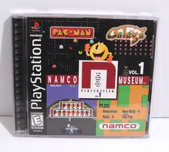 Namco Museum Vol. 1 (Sony PlayStation 1, 1995) Complete! Pac-Man Galaga Rally X - $5.95