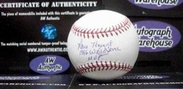 Ray Knight autographed baseball (New York Mets World Series Champions) inscribed - $85.00