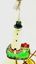 White-LED Light House Ornament-By Kurt Adler-Holiday! - $15.19