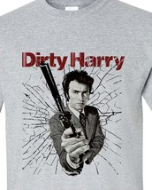 Harry clint eastwood t shirt retro vintage movie graphic tee for sale online gray store thumb200