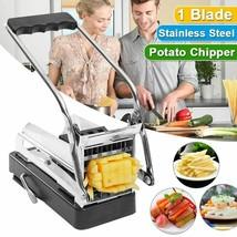 Stainless Steel Kitchen Potato Cutting Machine Non-slip French Fries Cut... - $43.93