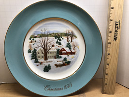 Avon Christmas on the Farm Plate - $40.00