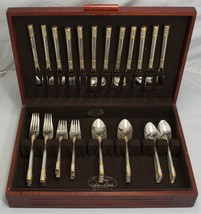 Aegean Weave Gold by Wallace Sterling Silver Flatware set for 12, 60pc -... - $3,750.00