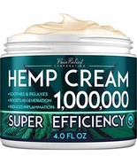 HEMP PAIN RELIEF CREAM 1,000,000 NATURAL EXTRACT FOR ARTHRITIS, BACK PAI... - $34.29