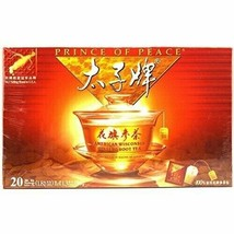 Prince Of Peace American Wisconsin Ginseng Root Tea, 20 Count - $20.51