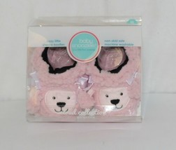 Baby Snoozies 1300Pood Pink Poodle Cozy Little Sherpa Booties Size 3 to 6 Months image 1
