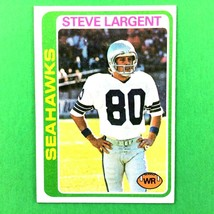 Steve Largent 1978 Topps 2nd Year Card #443 NFL HOF Seattle Seahawks - $3.91