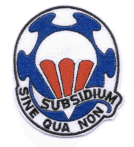 """3.5"""" ARMY 82ND AIRBORNE SUPPORT BATTALION SUBSIDIUM EMBROIDERED PATCH - $17.14"""