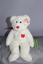 """TY Retired Beanie Buddies Collection 14"""" Large Valentino Bear 1999 - $19.79"""