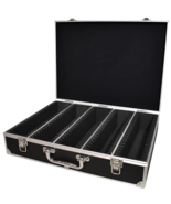 Guardhouse Aluminum Storage Box for 100 Certified Display Slabs, Black w... - $99.99