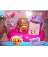 New Pet Club Kids'N Play puppy Shower Toy w/ accessories The Cuties Pets - $9.89
