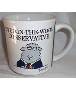 Vintage Dyed In The Wool Conservative Republican Coffee Mug Boynton Japa... - $39.99
