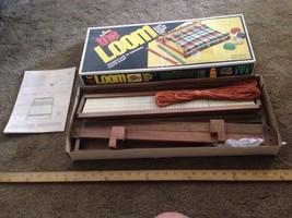 "Vintage NSI The Loom, 20"" Table Top Weaving Loom Original Box Loom - $84.85 CAD"