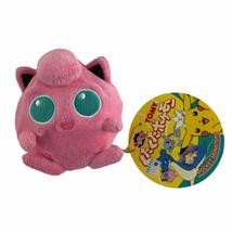 1999 Vintage Pokemon Pocket Monster Tomy Jigglypuff Bean Bag Plush With ... - $51.25