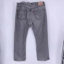 LEVI's Original 501XX Jeans Mens actual Size 37 x 29 Faded Gray Denim Bu... - $29.65