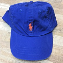 NEW Polo Ralph Lauren College Baseball Cap Hat Big Pony Adjustable Strap OS - $34.64