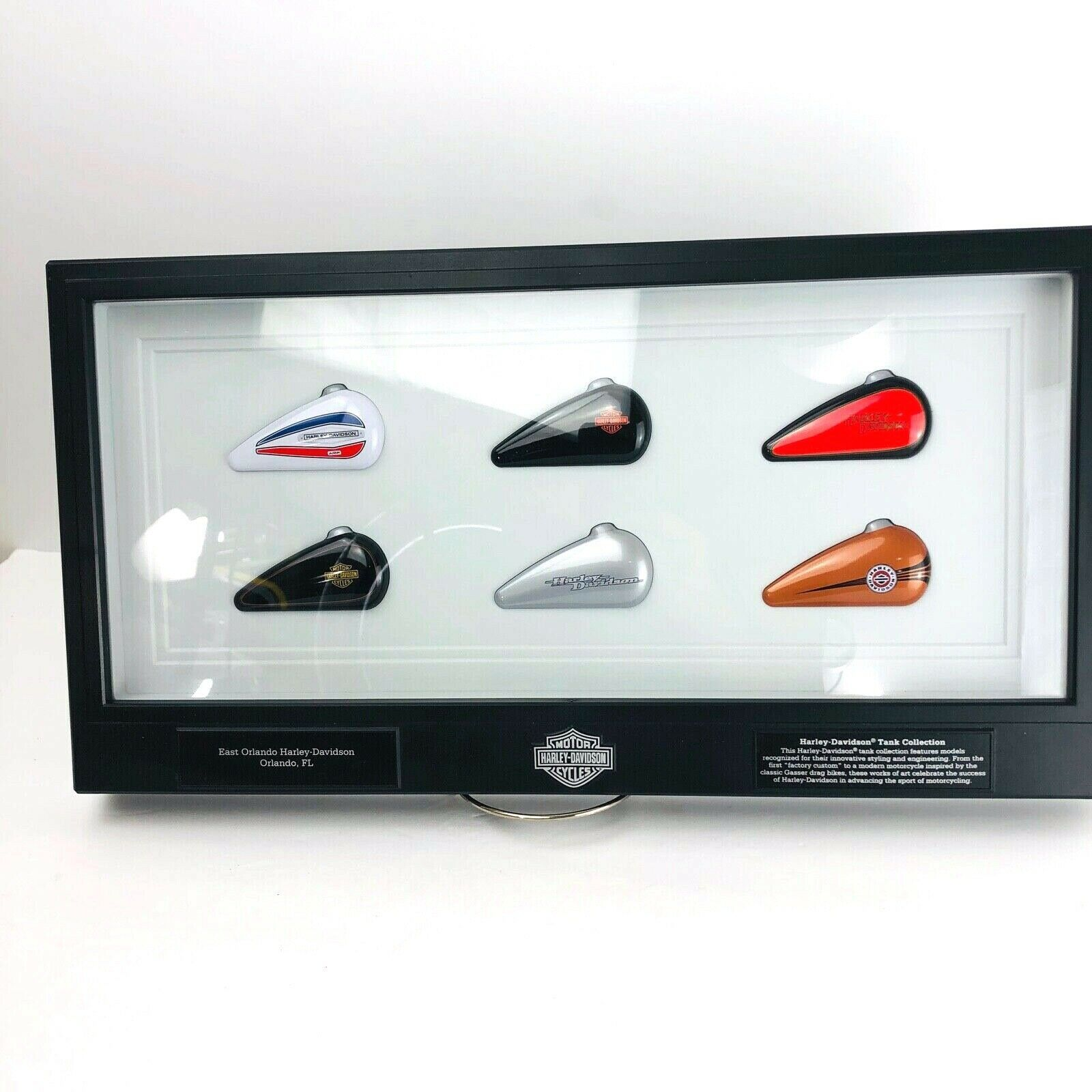 Primary image for Harley Davidson Gas Tank Collection Special Edition East Orlando Wall Art Limitd