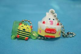 Bandai Tamagotchi Gashapon Mini Double Figure Keychain Shimashimatchi Ca... - $19.99