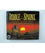 Riddle of the Sphinx: An Egyptian Adventure PC CD Game New Sealed - $20.98