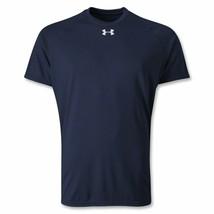 Nuovo Under armour Uomo Ua Heat Gear Tech Manica Corta T-Shirt Large